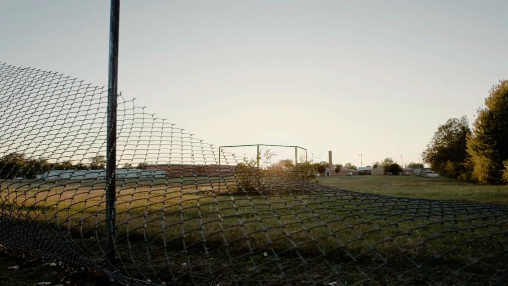 Neglected Baseball Field