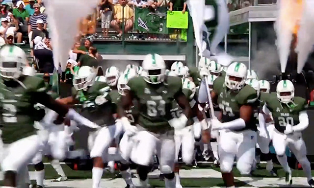 Tulane Athletics Football Team Entry