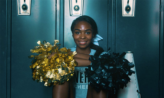 U.S. Grant High School Cheerleader Kristyona Shannon