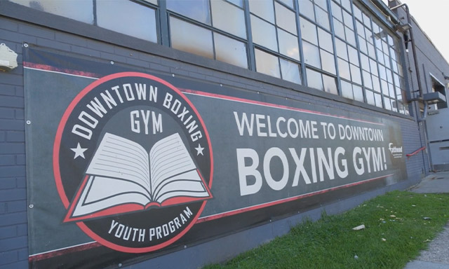 The Downtown Boxing Gym building in Detroit as seen on the television show Power of Sports