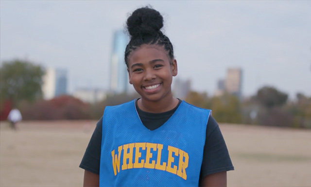 Student-athlete from Wheeler Middle School in Oklahoma City